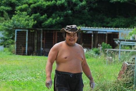 大将の風貌は日本人離れしてるとイメージ1