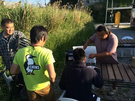 テレビ朝日「スーパーJチャンネル」さんが、らー麺ゴルジの取材に♪イメージ1