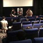 アルバトロスフィルム『ズーンビ』でのトークショーへイメージ