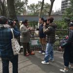 なないろ日和のロケにて上野動物園へイメージ